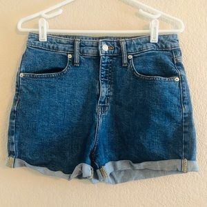 Wild Fable High Rise Denim Shorts 10